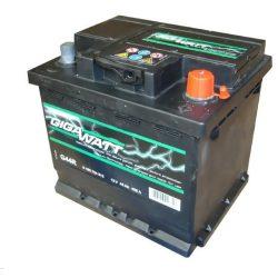Bosch Gigawatt 12V 45Ah J+ 400A akkumulátor