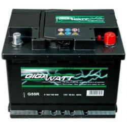 Bosch Gigawatt 12V 56Ah J+ 480A akkumulátor
