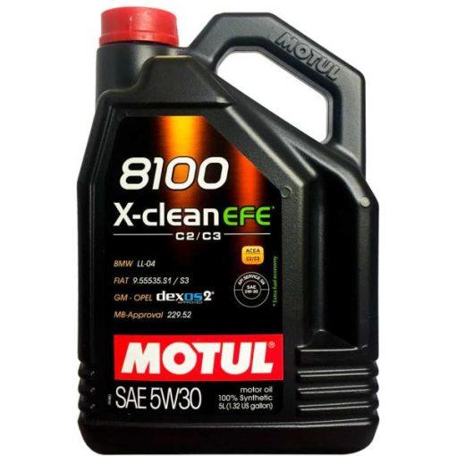 motul-8100-x-clean-fe 5w-30-5l