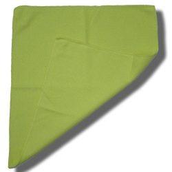 Tegee Mikroszálas tisztítókendő Fluffy - zöld (35*38) 5 db/csomag