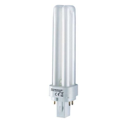 Osram Dulux D/E 26W/830 G24q-3 meleg fehér kompakt izzó