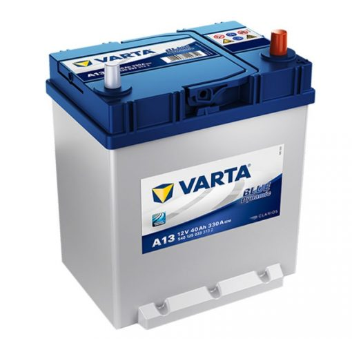 Varta Blue Dynamic 12V 40Ah 330A Jobb+ ázsiai autó akkumulátor (A13) - 540125