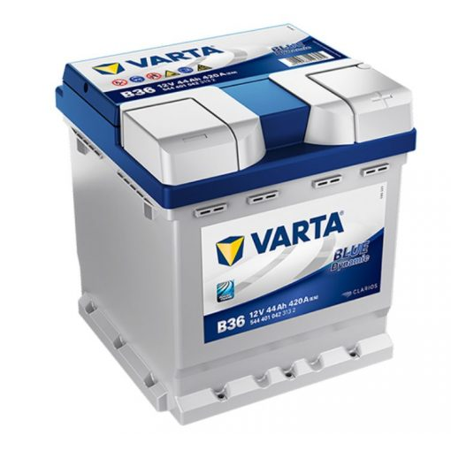 Varta Blue Dynamic 12V 44Ah 420A Jobb+autó akkumulátor (B36) - 544401