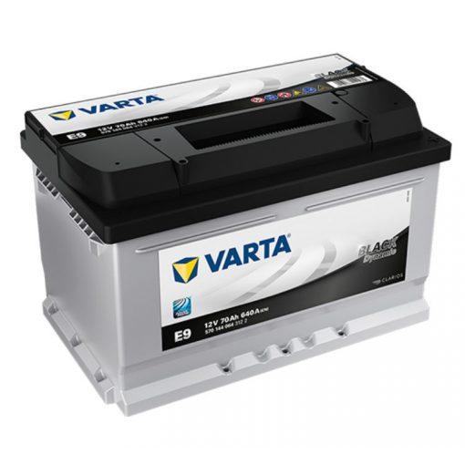 Varta Black Dynamic 12V 70Ah 640A Jobb+ autó akkumulátor (E9) - 570144