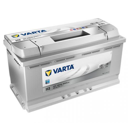 Varta Silver Dynamic 12V 100Ah 830A Jobb+ autó akkumulátor (H3) - 600402
