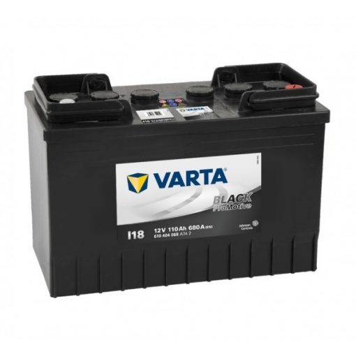 Varta Promotive Black 12v 110Ah teherautó akkumulátor - 610404