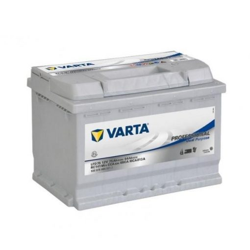 Varta Professional Dual Purpose 12v 75A meghajtó akkumulátor - 930075
