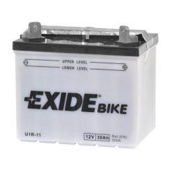 Exide-U1R-11-12V-30Ah-300A-AGM-jobb-motorkerekpa