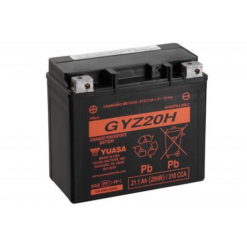 Yuasa-GYZ20H-12V20Ah-310A-GEL-motorkerekpar-akkumulator