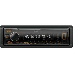 Kenwood-KMM-105A-USB-autoradio-sarga-gombszin