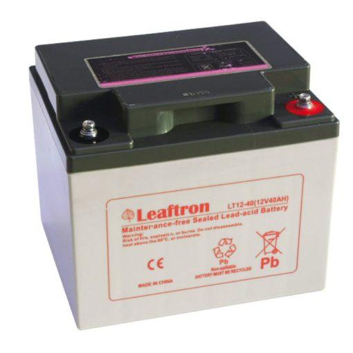 Leaftron-12V-40Ah-zseles-akkumulator