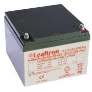 Leaftron-Ciklikus-12V-28Ah-zseles-akkumulator