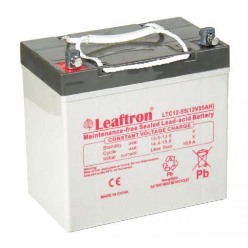 Leaftron-Ciklikus-12V-55Ah-zseles-akkumulator