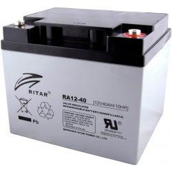 Ritar-12V-40Ah-zart-savas-akkumulator