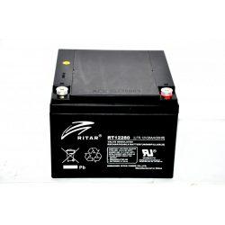 Ritar-12V-28Ah-zart-savas-akkumulator