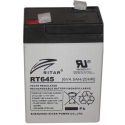 Ritar-6V-45Ah-zart-savas-akkumulator