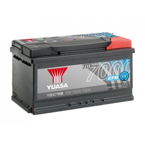 Yuasa-YBX7110-12V-75Ah-730A-EFB-Start-Stop-auto-akkumulator