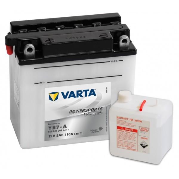 Varta Funstart Freshpack YB7-A 12V akkumulátor - 508013
