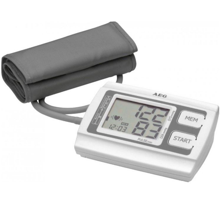 AEG BMG5611 felkaros vérnyomásmérő, elemes
