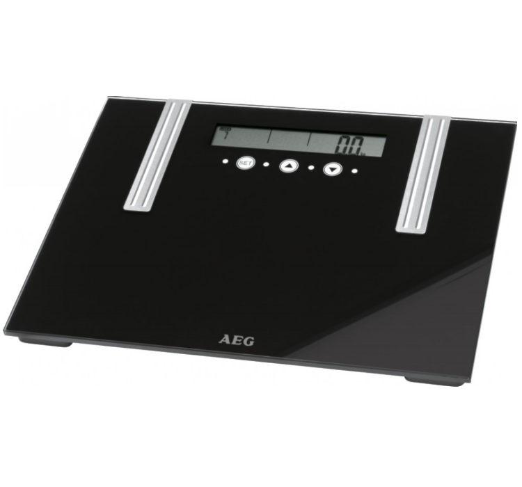 AEG PW5571 üveg digitális analitikus mérleg, 150 kg-ig, elemes